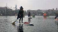 Witches Shall Joyfully Paddle in Ventura Harbor
