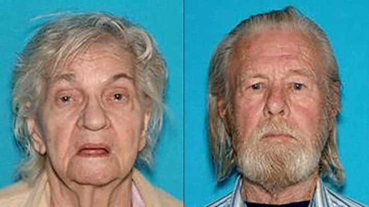 Keith Davis, 87, and his wife Pauline, 91, are missing.