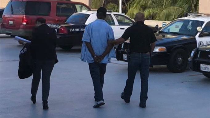 Police arrest a pastor accused of sexually assaulting a girl in a church restroom in Santa Ana.