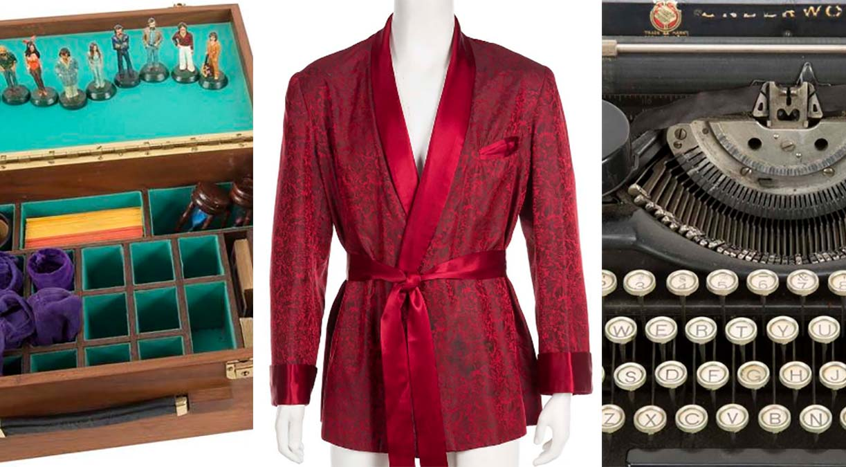 Julien's will auction items from the Hugh Hefner collection Nov. 30 and Dec. 1, 2018.