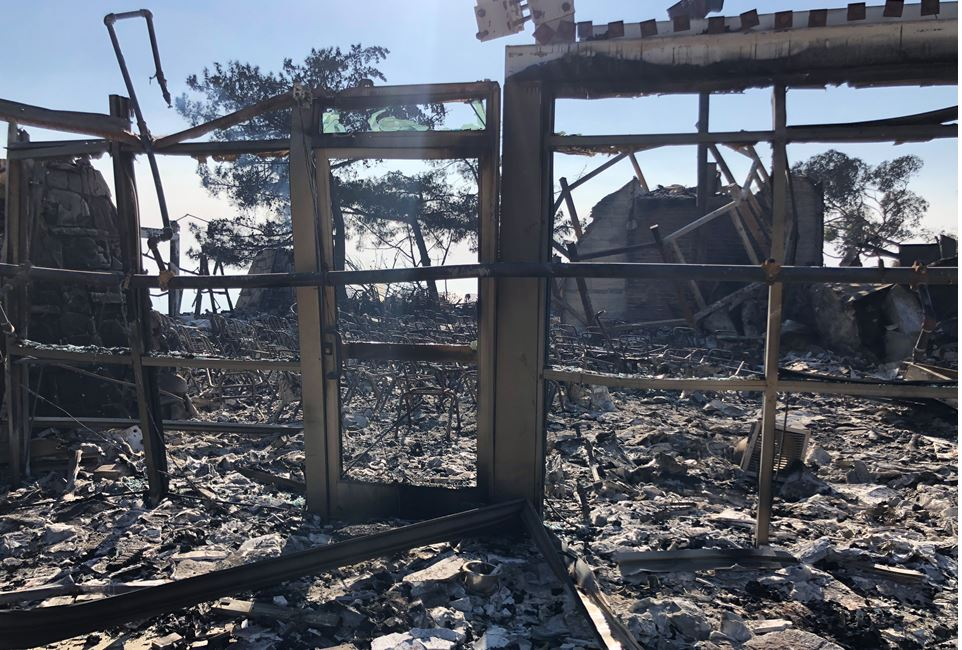 The devastating Woolsey Fire destroyed Camp Hilltop (pictured) and its sister camp, Camp Hess Kramer in the Malibu Hills. The beloved camps have been the summer home for tens of thousands of Jewish children in Los Angeles.