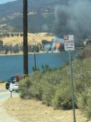 [UGCLA-CJ-breaking news]The beginning of the Castaic fire
