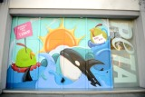 PETA Building Dons Anti-SeaWorld Mural