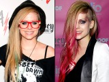 Picture: Dramatic Hair Transformations: Avril Lavigne