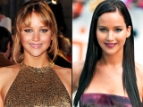 jennifer lawrence hair Dramatic Hair Transformations: Katniss Goes Dark