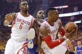 APTOPIX Clippers Rockets Basketball