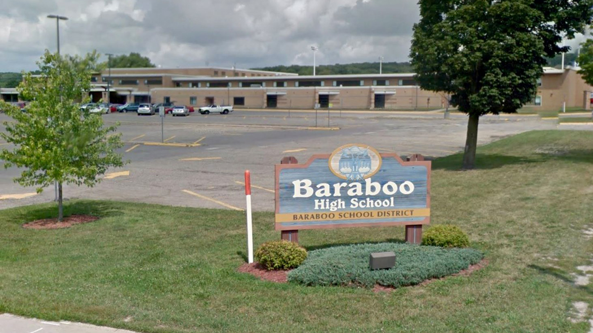 Baraboo High School in Wisconsin.