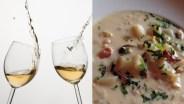Monterey: Chowder + Wine