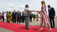 Melania Trump Africa