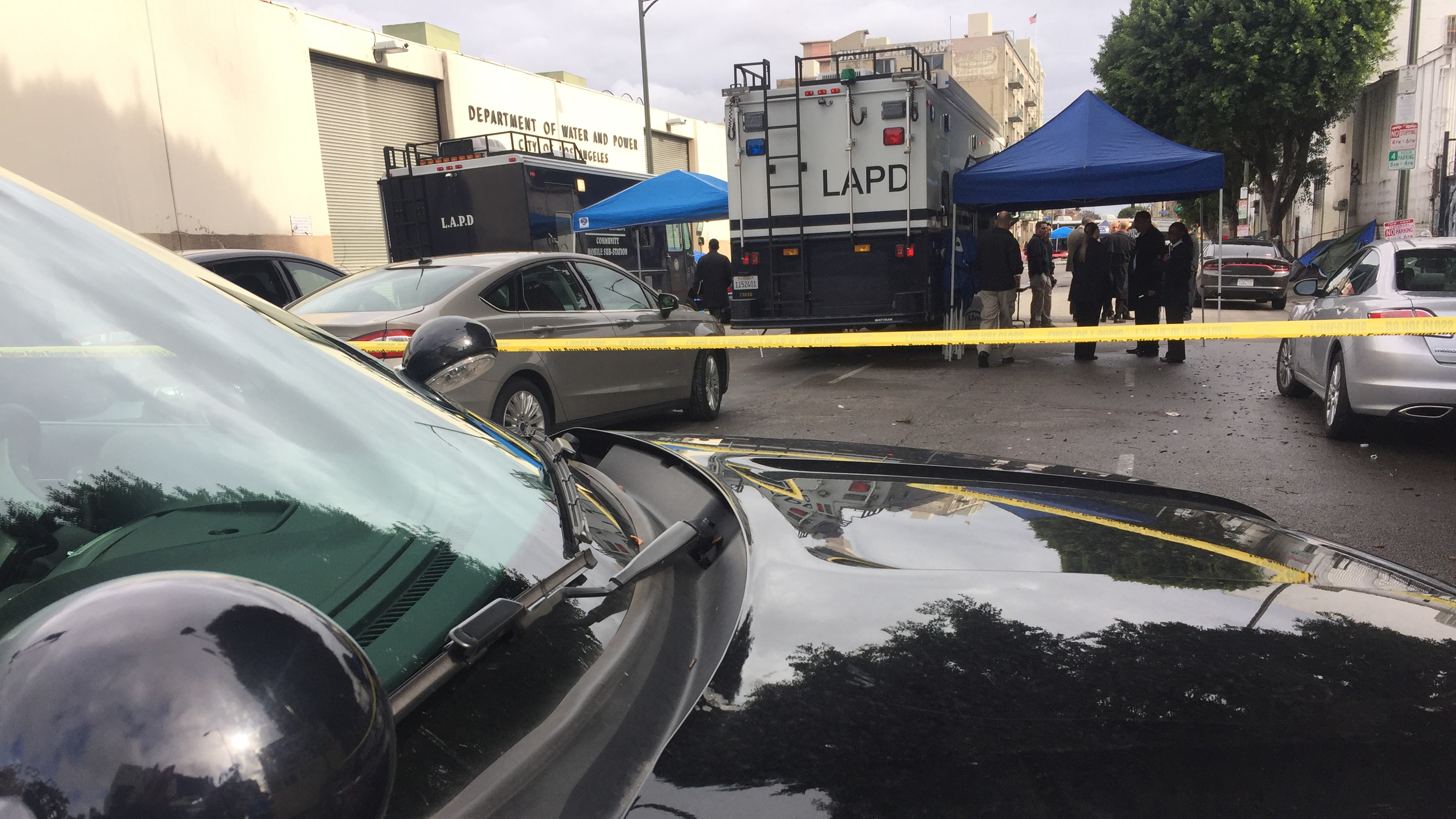 LAPD Officer Severely Injured in a Fight on LA's Skid Row