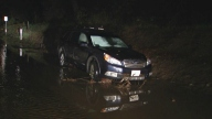 SUV Stuck in Niles Canyon