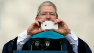 Tim Cook's Blurry iPhone Photo Sets Off Twitter Memes