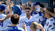 Dodgers Win, Become First NL Team to 100 Wins