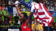Claressa Shields Defending her Gold Medal