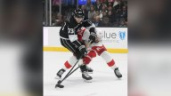 Iafallo Scores in OT, Kings Rally for 3-2 Win Over Red Wings