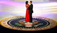 APTOPIX Inaugural Balls Obama