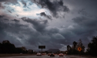 Clouds Over the Hollywood Freeway