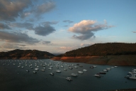 Houseboats on Lake Oroville
