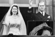 Russian Fringe Tiara - Princess Elizabeth and Prince Philip
