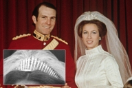 Russian Fringe Tiara - Princess Anne and Mark Phillips