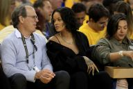 Rihanna Watches Game 1 of the NBA Finals