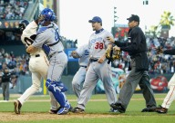 Eric Gagne Almost Fights Michael Tucker