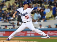 Maeda Looks Like Old Self in Dodgers Win
