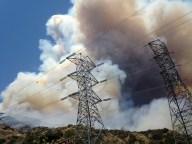 Wildfire Above Azusa