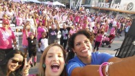 NBC4 Sponsors Breast Cancer Walk at L.A. LIVE