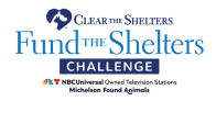 Fund The Shelters Challenge Raises Nearly $1.6M For Animals In Shelters Nationwide