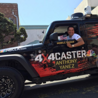NBC4's Anthony Yanez Joins the Huntington Beach 4th of July Parade
