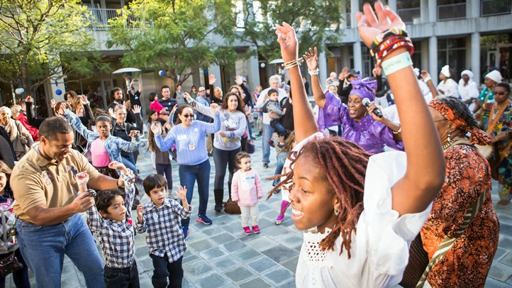 Dance to a klezmer band, hear Hanukkah stories, and enjoy a come-together day at the center on Sunday, Dec. 2.
