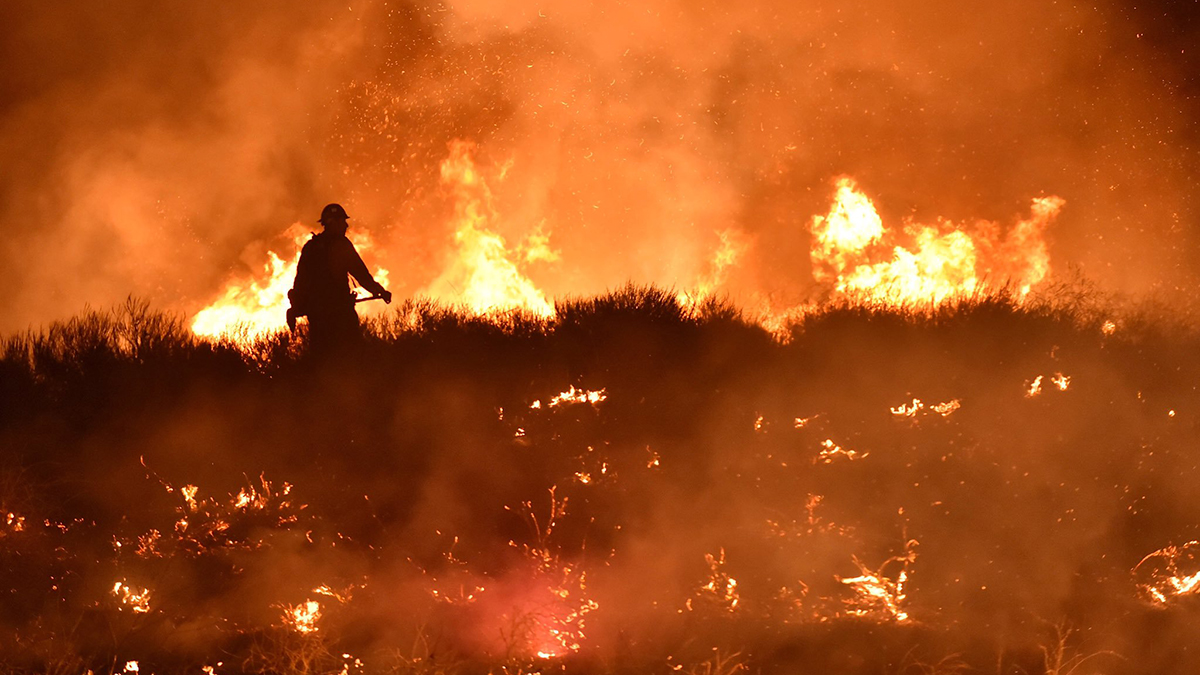 Wendy Fire in Ventura County Now 50% Contained