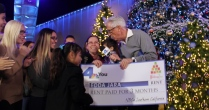 NBC4 Presents The Wishing Tree at Universal CityWalk, Granting Holiday Wishes Live