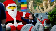 The Carlsbad attraction kicks off the 2017 holiday season on Saturday, Nov. 18. (AP Photo Sandy Huffaker, Legoland)