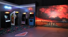 """Need your colorful """"Stranger Things"""" environments and backdrops? Those"""