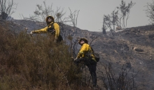 Sand Fire Containment Reaches 40 Percent