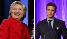 Clinton Wraps Visit With Star-Studded Fundraisers