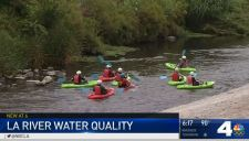 Testing Finds Fecal Bacteria in LA River Water<br /><br />