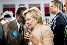 Campaign Pitch Remains a Mystery at Clinton Events