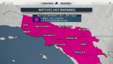 Southern California Faces Triple-Digit Heat, Winds