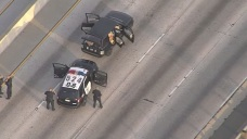 Officer Involved Shooting Shuts Down 101 Freeway