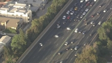 101 Freeway Closed as Possible Murder Suspect Taken Into Custody