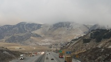 Late-Winter Snow Blankets Southern California Mountains