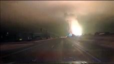 Dash Cam Video Captures Gas Line Blast