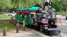 Take a $2 Ride on the Irvine Park Railroad