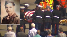 Remains of WWII Marine Return Home 73 Years Later
