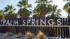 Swastika Drawn on Business Sign in Palm Springs