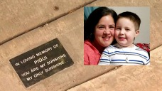 Park Bench Dedicated to Memory of Pasadena Boy Slain by Dad