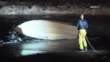 Family Rescued After Boat Capsizes Off Oxnard Coast